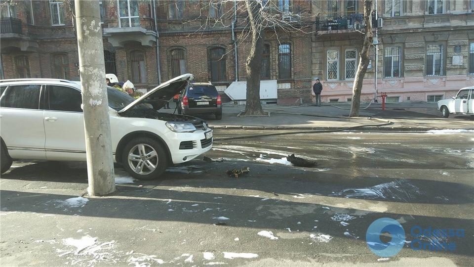 Одесский апелляционный суд: поджог автомобиля судьи был связан с его профессиональной деятельностью
