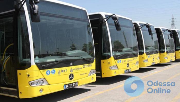 Одесситы будут ездить в турецких автобусах