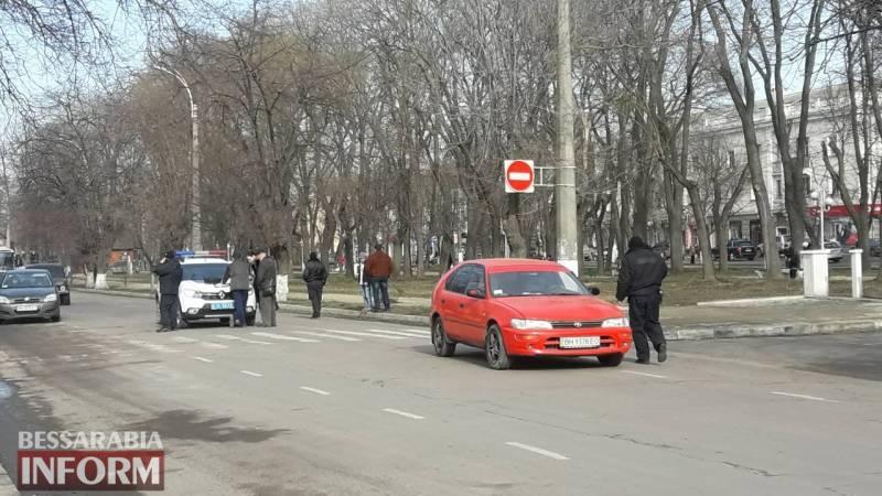 В Измаиле сбили девочку на пешеходном переходе