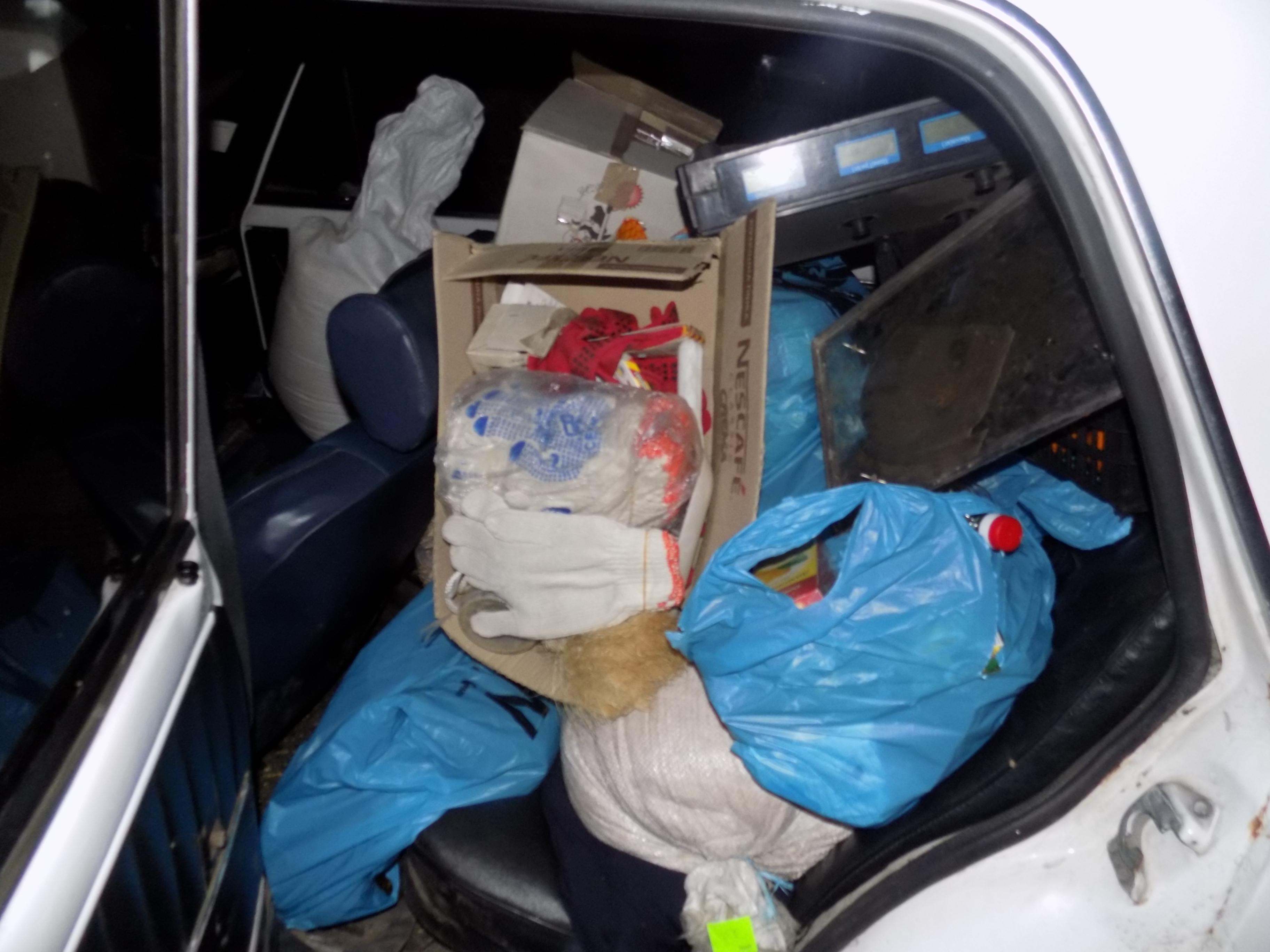 В Одесской области грабители унесли из киоска товаров на 10 тысяч гривен