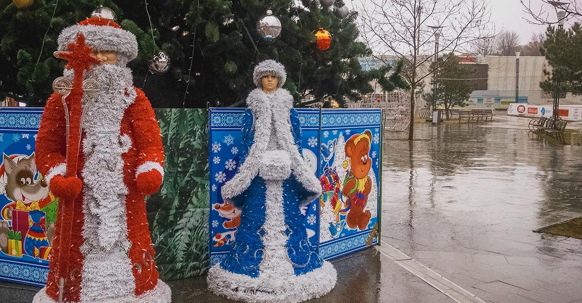 Дождливая Одесса: улицы, парки и море (фоторепортаж)