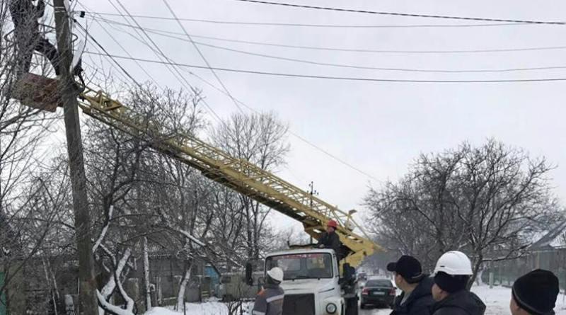 Спустя полмесяца в Килийском районе полностью восстановили электроснабжение