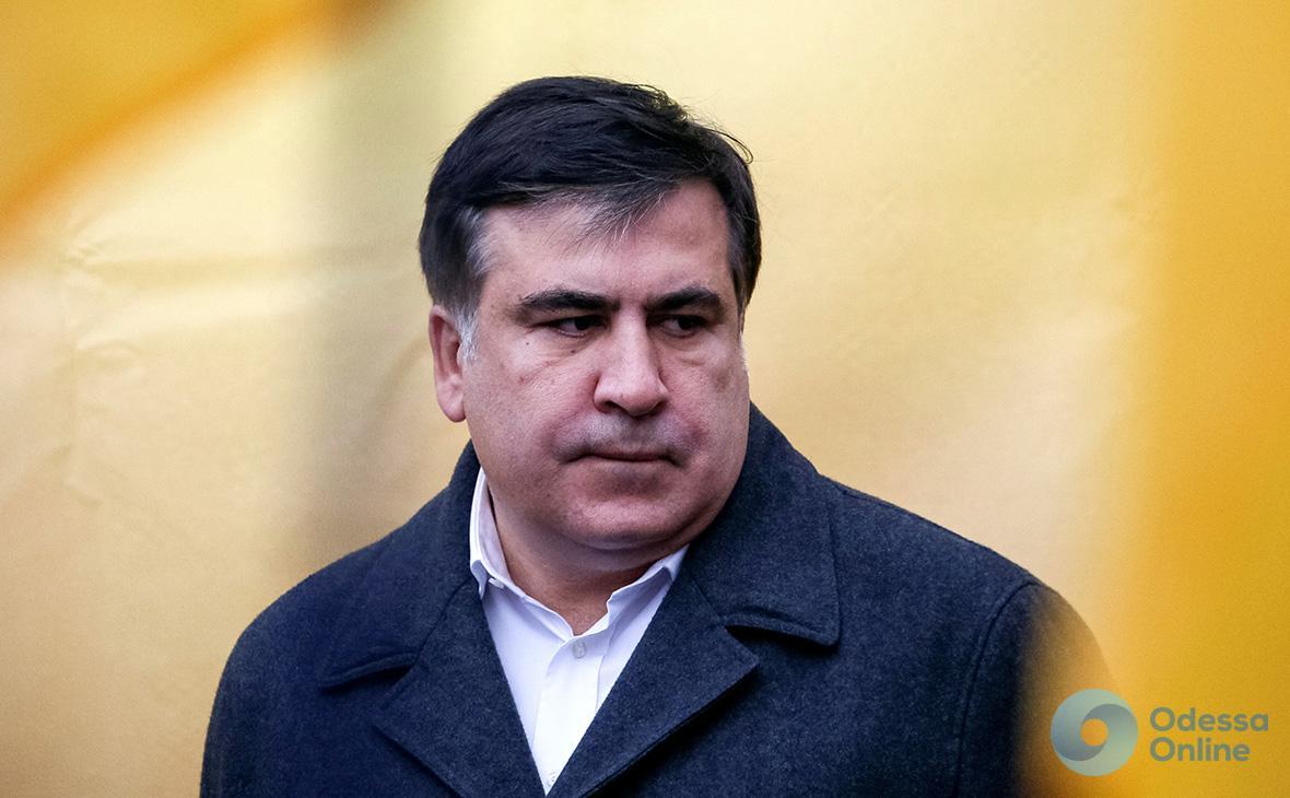 Саакашвили запретили въезд в Украину на три года