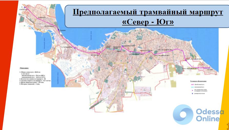 «Север-Юг»: Одесса планирует взять кредит в 60 млн евро на строительство трамвайной линии