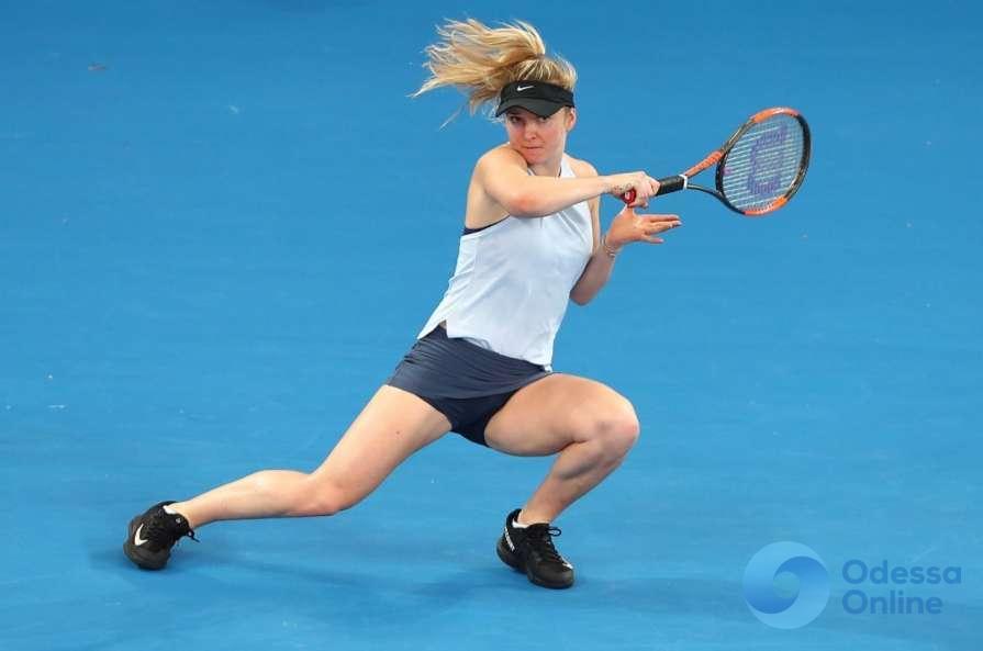 Чешское проклятье: Элина Свитолина вылетает с турнира в Катаре