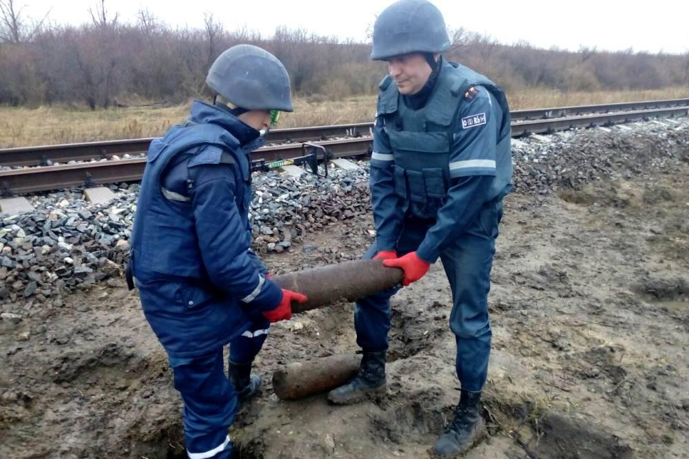 Возле железной дороги в Одесской области нашли 52 артснаряда