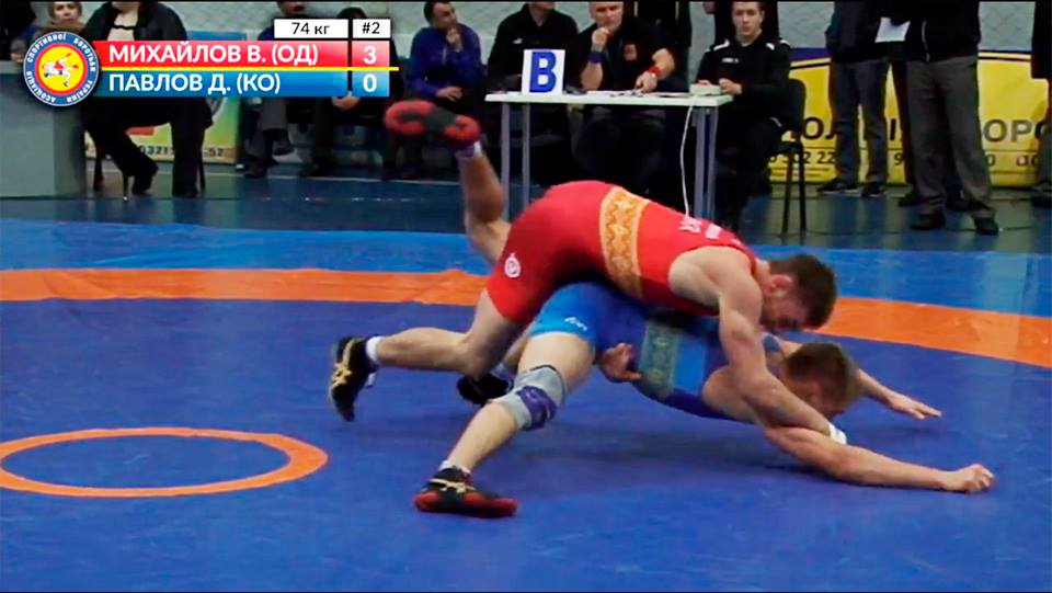 Тарутинский борец в седьмой раз стал чемпионом Украины