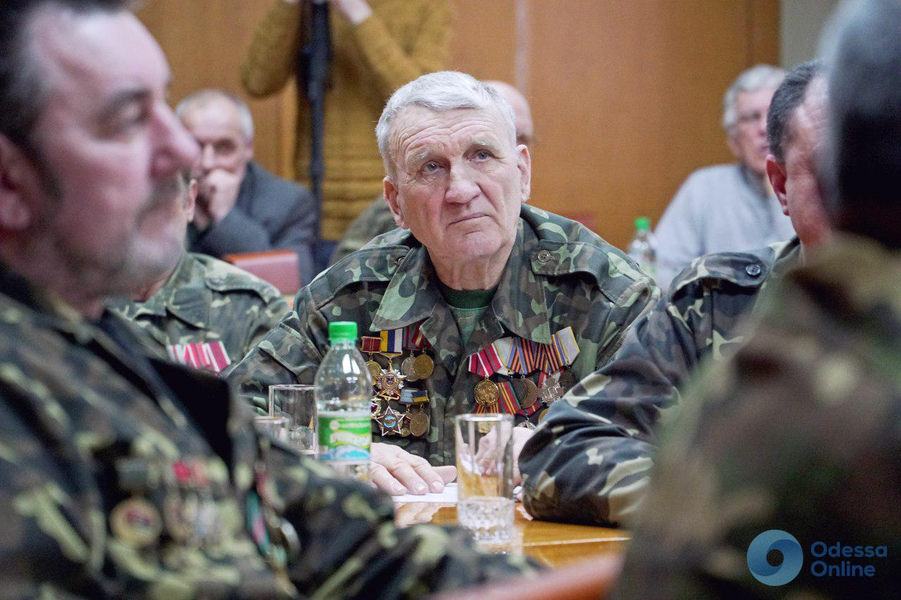 В Одесской области наградили участников боевых действий на территории других государств