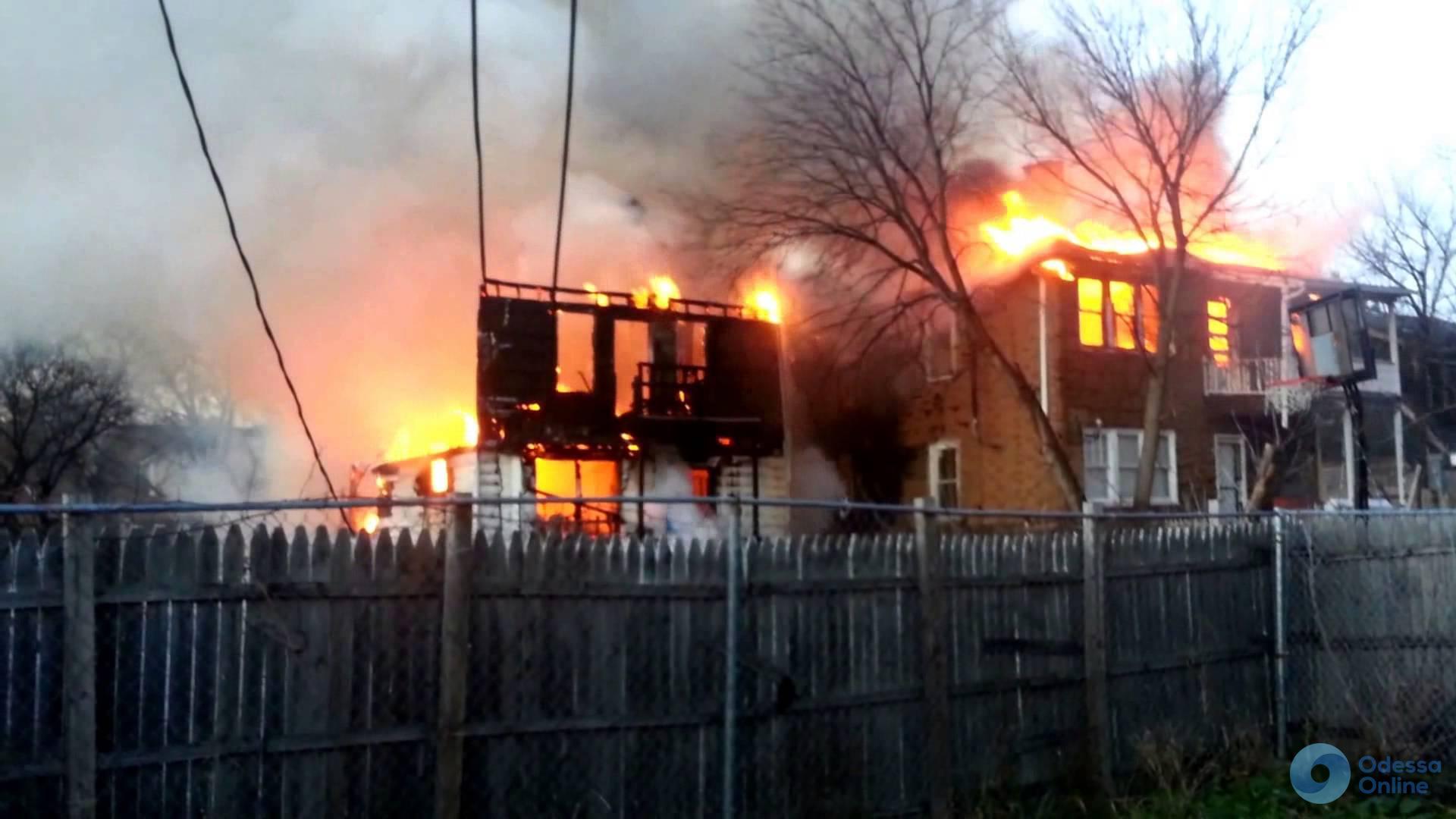 Одесская область: пожарные тушили здание сельсовета