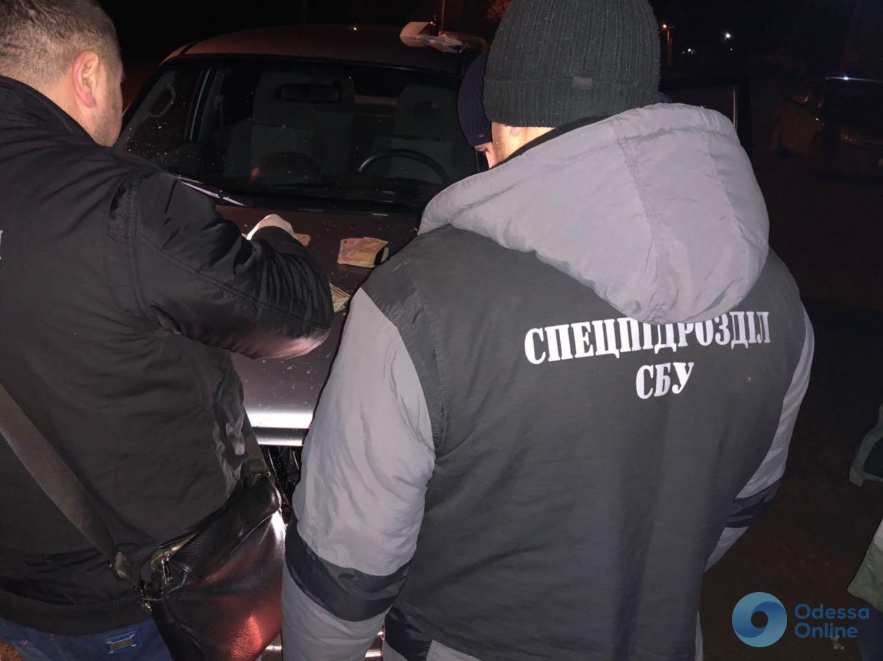 Одесская область: СБУ задержала чиновников на взятке