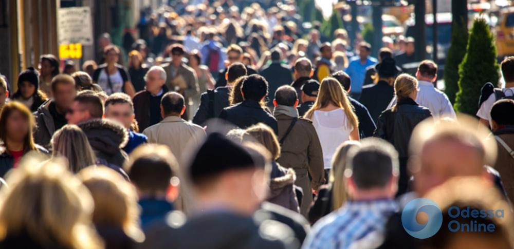 Численность населения Одесской области сокращается