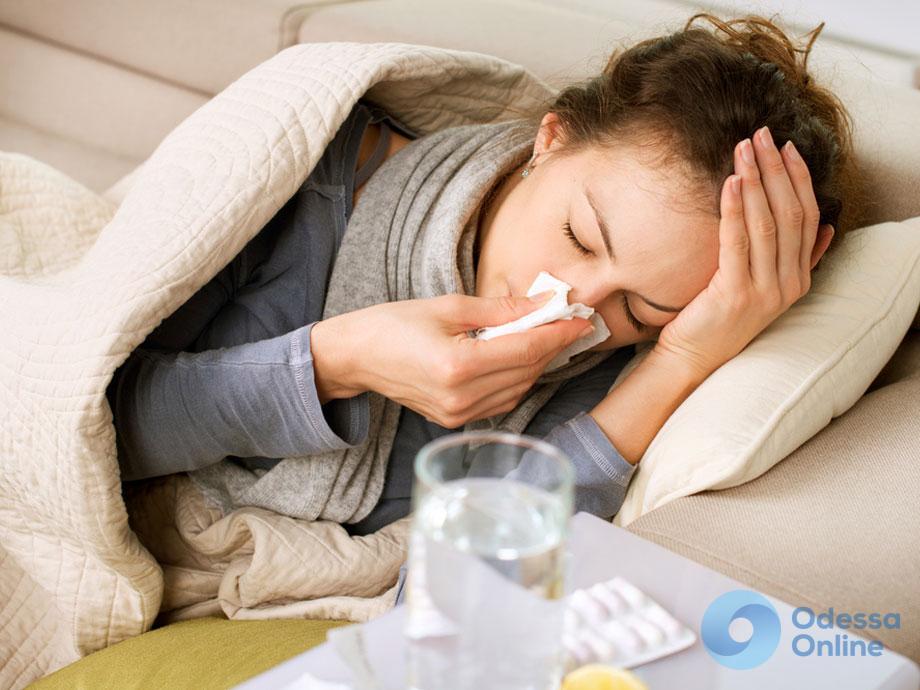 На прошлой неделе ОРВИ и гриппом заболели 5,6 тыс. одесситов