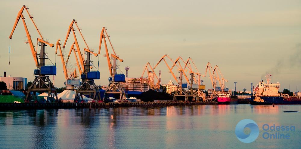 Черноморский порт на четверть нарастил грузооборот