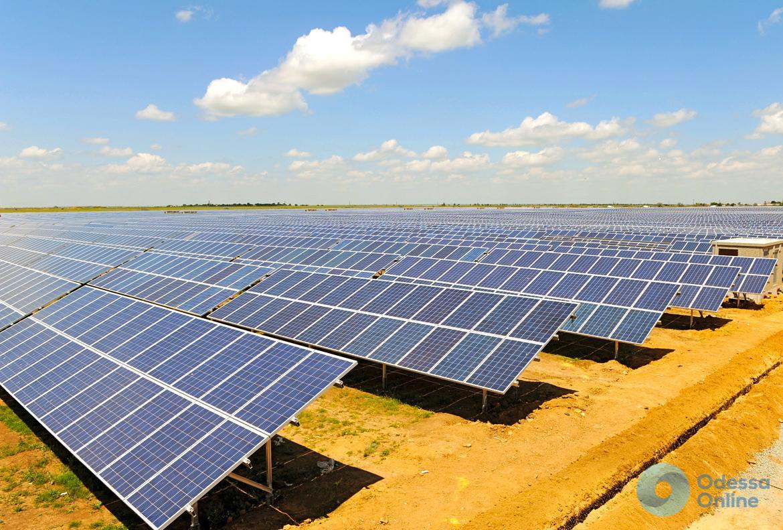 В Одесской области установили две солнечные станции