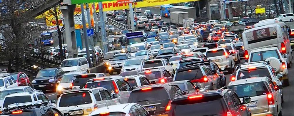 Одесские пробки: «стоящая» Николаевская дорога и «тянущийся» центр