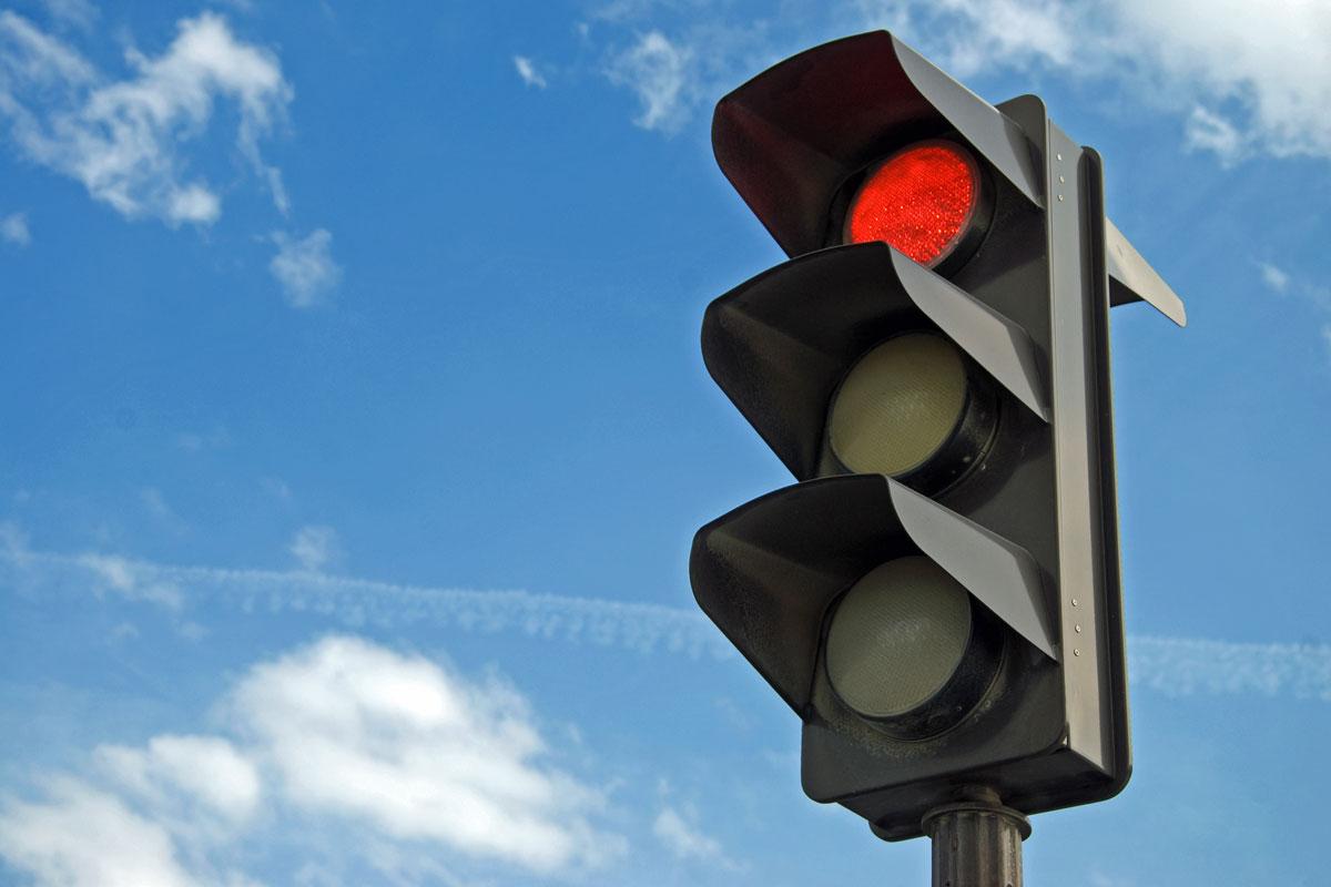 В Одессе не работают несколько светофоров