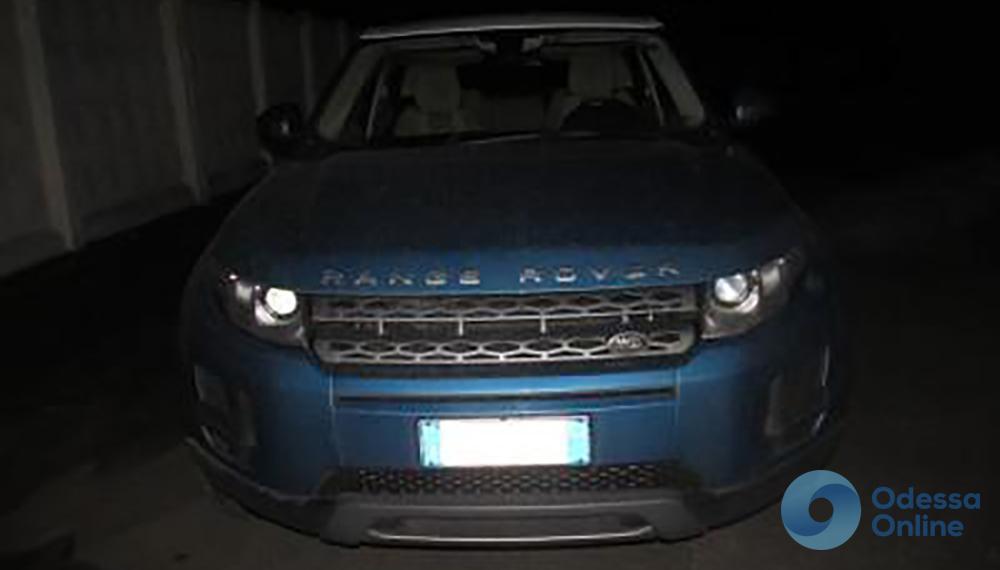 В Одесской области задержали разыскиваемый Интерполом Range Rover