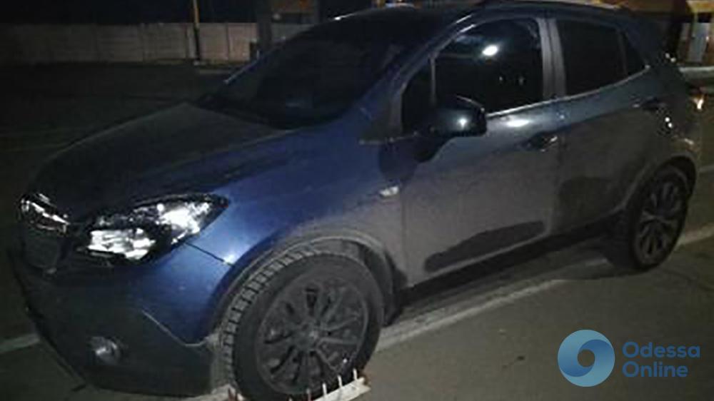 В Одесской области задержали угнанное в Германии авто