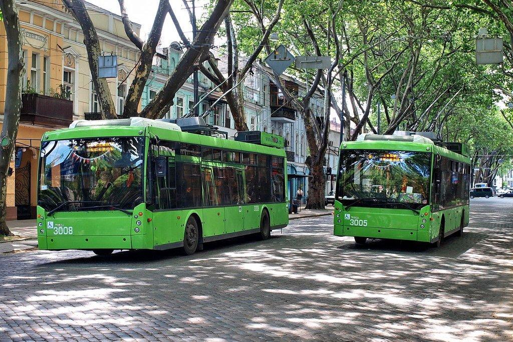 В Одессе дефицит водителей городского электротранспорта