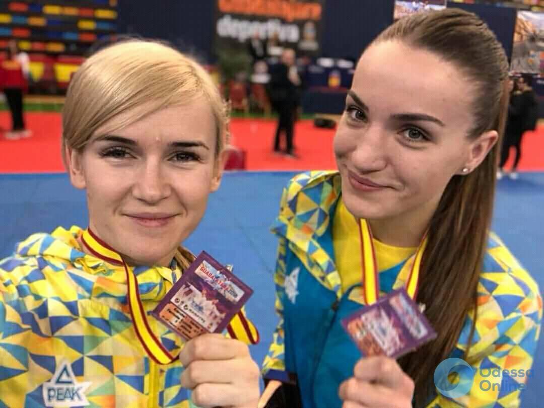 Одесские каратистки завоевали медали престижного турнира в Испании