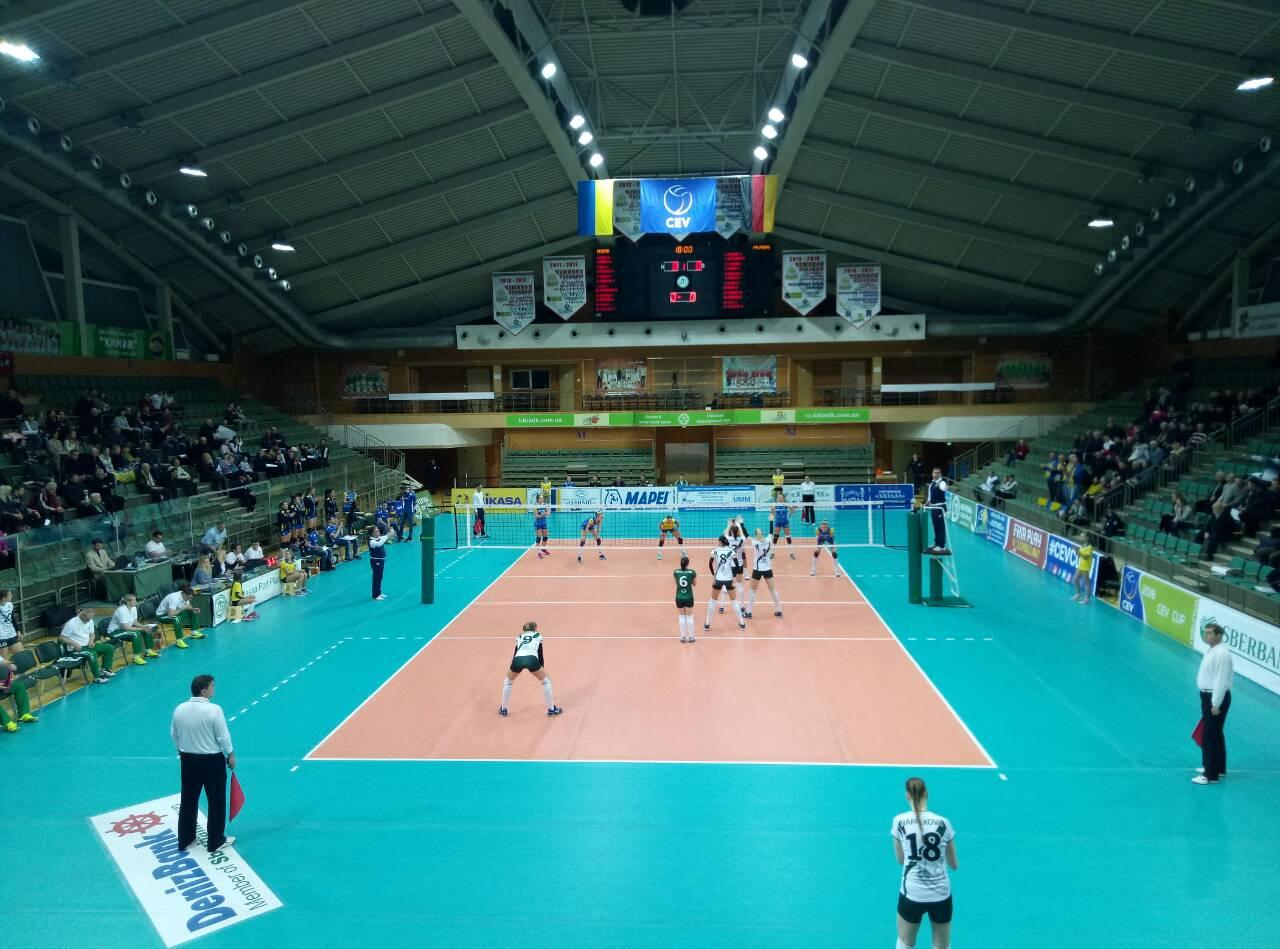 Волейбольный клуб из Одесской области завершает выступления в еврокубках