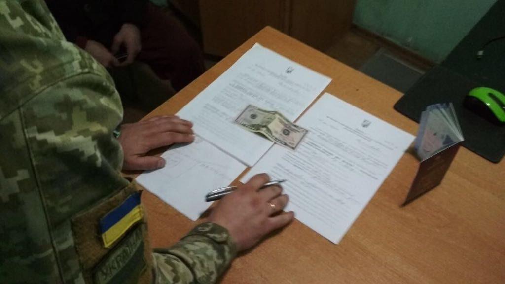 В Одесской области грузин пытался дать взятку пограничнику