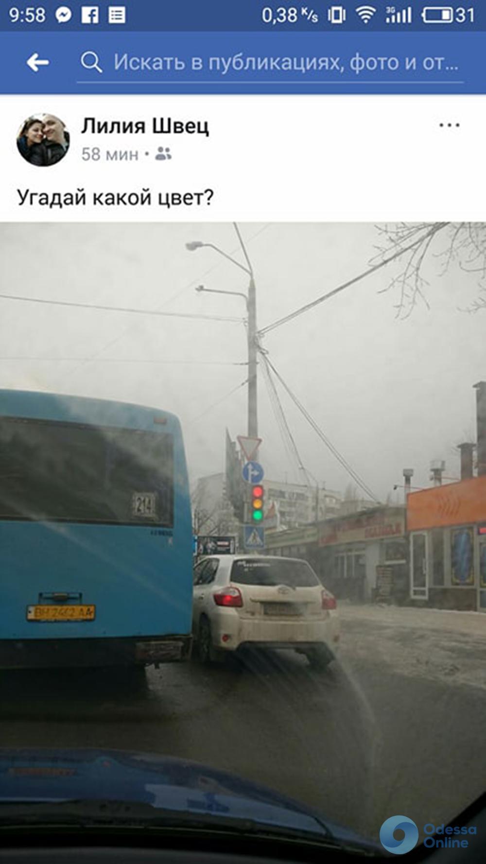 Можно все: одесский светофор сошел с ума (фотофакт)