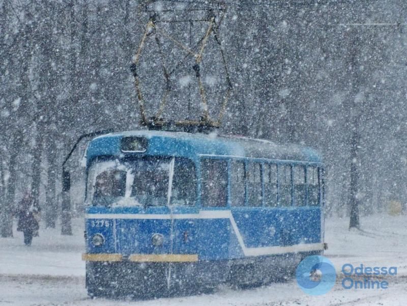 В Одессе не работают некоторые трамвайные маршруты