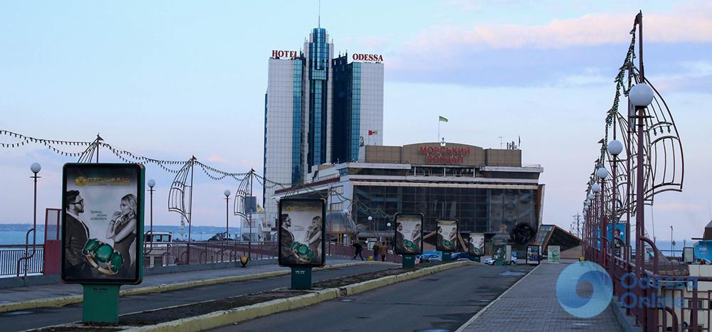 Одесский морвокзал скоро обзаведется новым фасадом