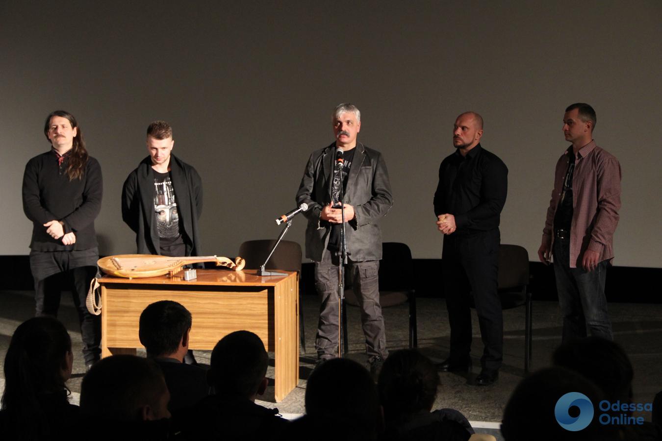 «Посттравматическая рапсодия»: на Одесской киностудии презентовали фильм Корчинского