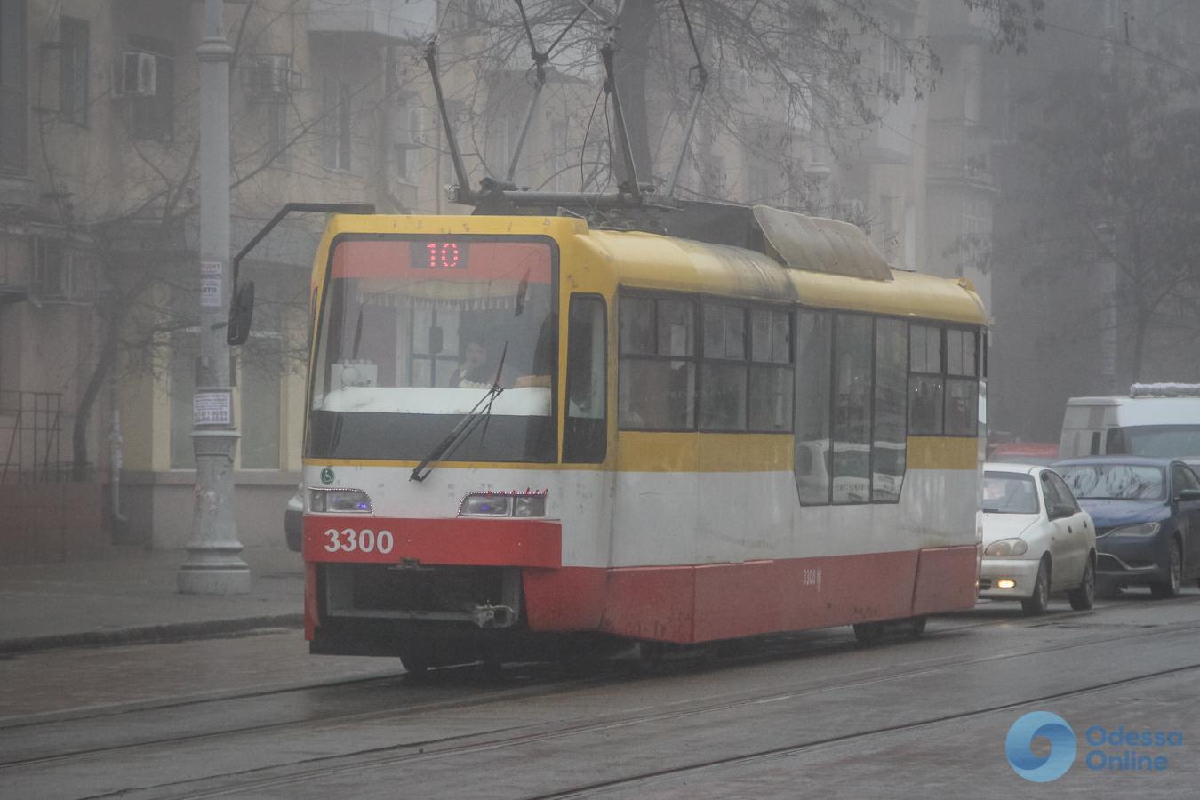 В Одессе временно не ходит 21-й трамвай