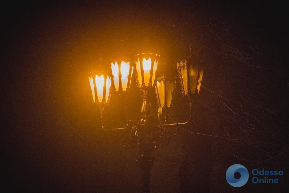 Ночная туманная Одесса (фоторепортаж)