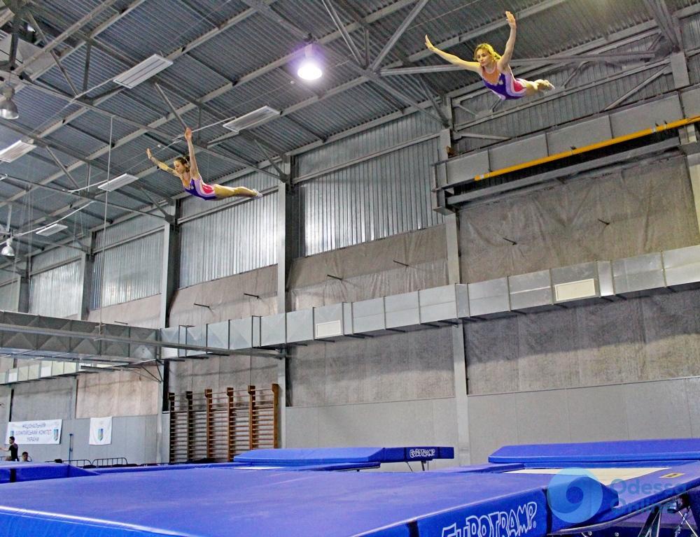 В Одессе пройдут сразу несколько всеукраинских турниров по прыжкам на батуте