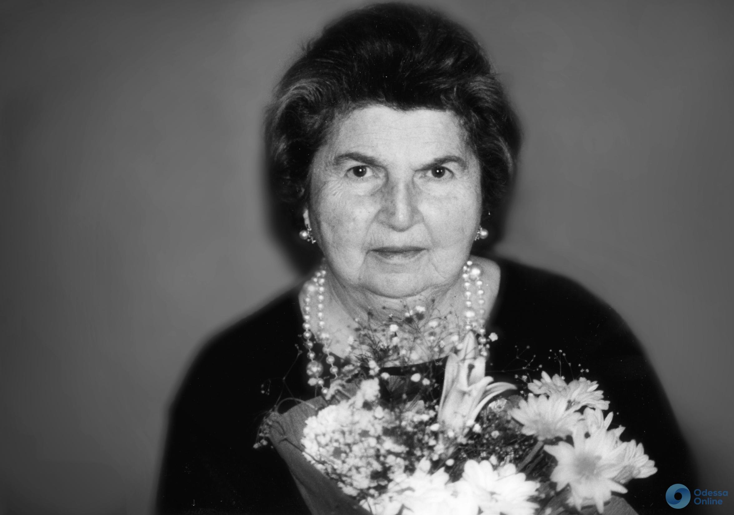В Одессе на Аллее звёзд увековечат память Елизаветы Гилельс