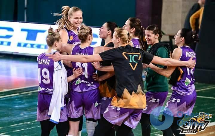 Одесские баскетболистки обыгрывают непобедимых киевлянок и завоевывают Кубок Украины