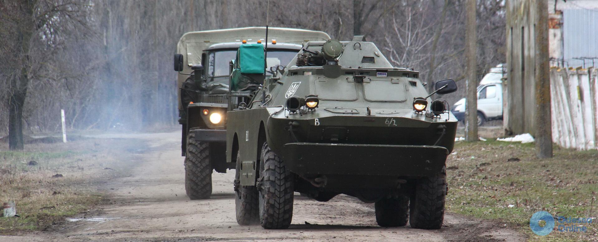 Одесская область: военные учились создавать противникам помехи