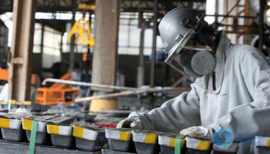 В Одесской области замедлились темпы роста промышленного производства