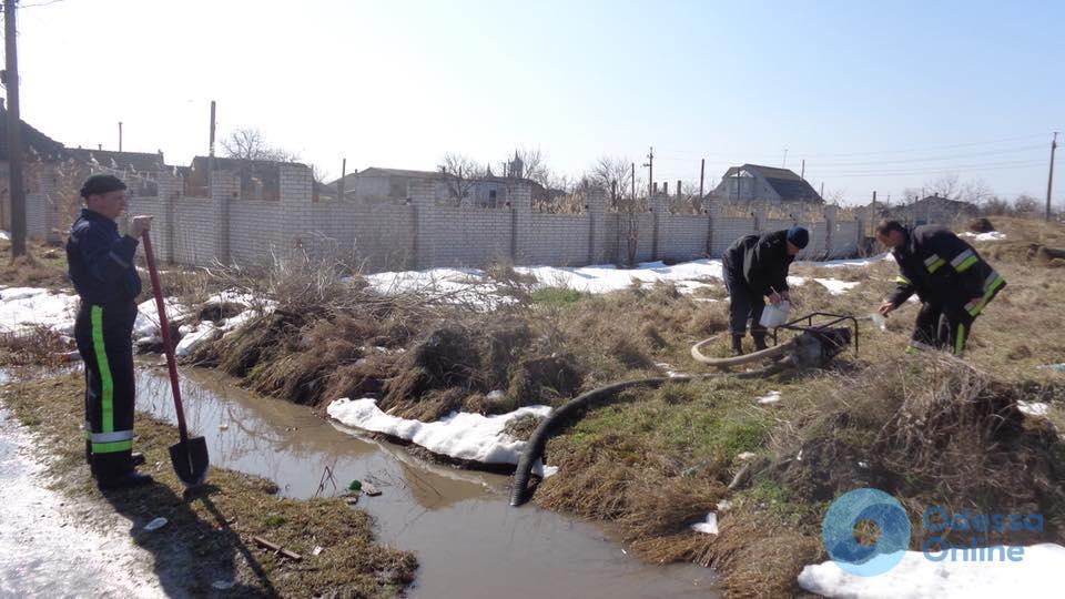 Одесской области угрожает потоп