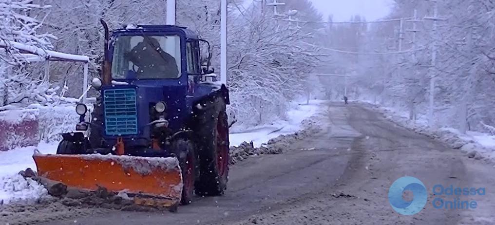 Одесская область: все дороги открыли для движения