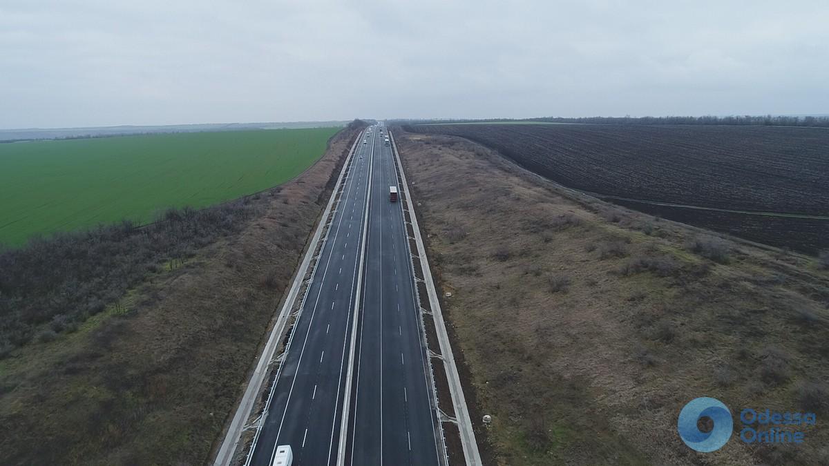 Аварийный ремонт трассы Киев-Одесса успешно завершен