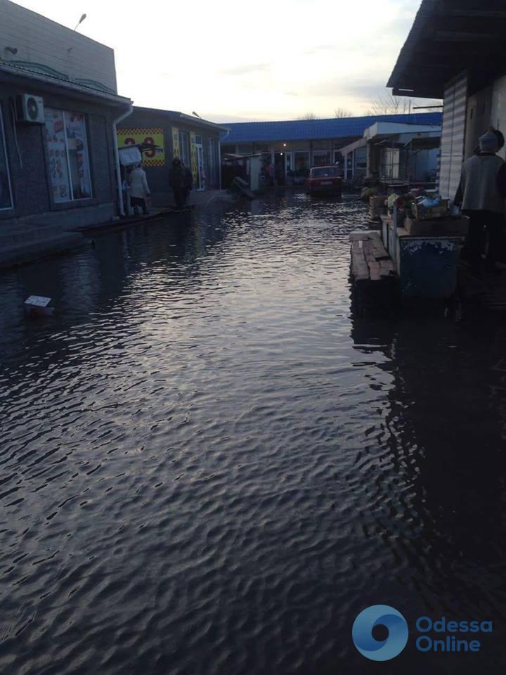 Воды Дуная сильно подтопили Вилково
