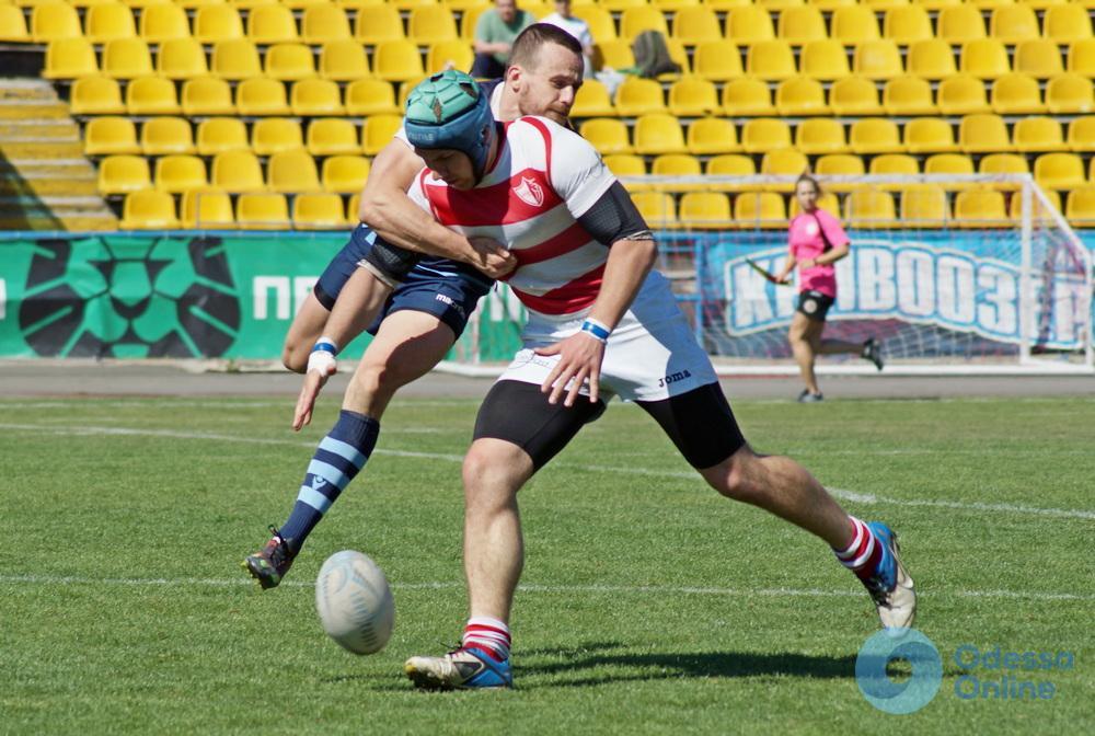 В Одессе состоялось региональное дерби в рамках международного турнира по регби