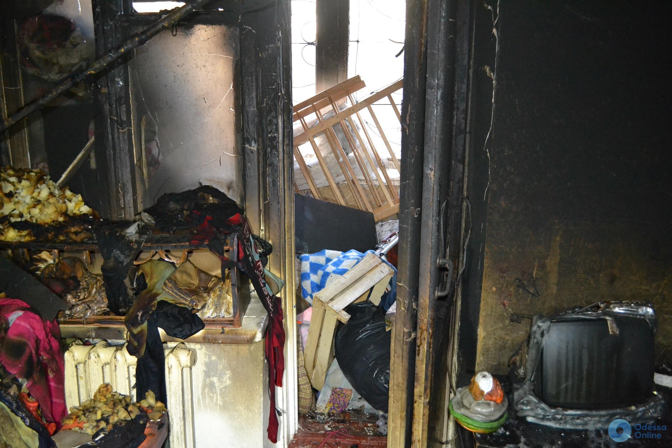 В Одессе при пожаре погиб маленький ребенок