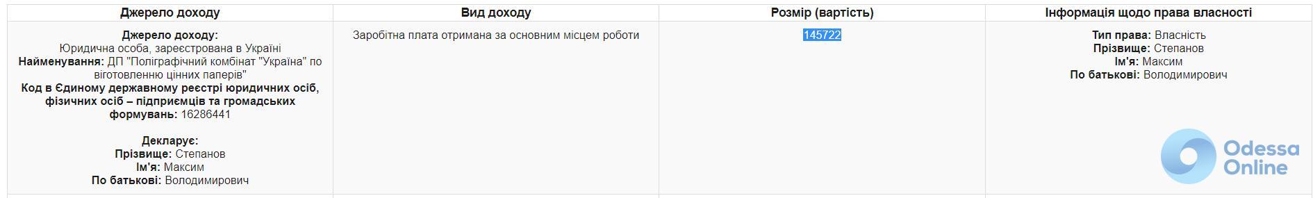 Декларация Степанова: часы и «ювелирка», квартиры и новый бизнес, а также Lexus для жены