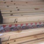 сигареты в деревянном брусе
