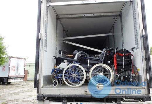 В Одессу из Германии доставили 9,5 тонн гуманитарного груза