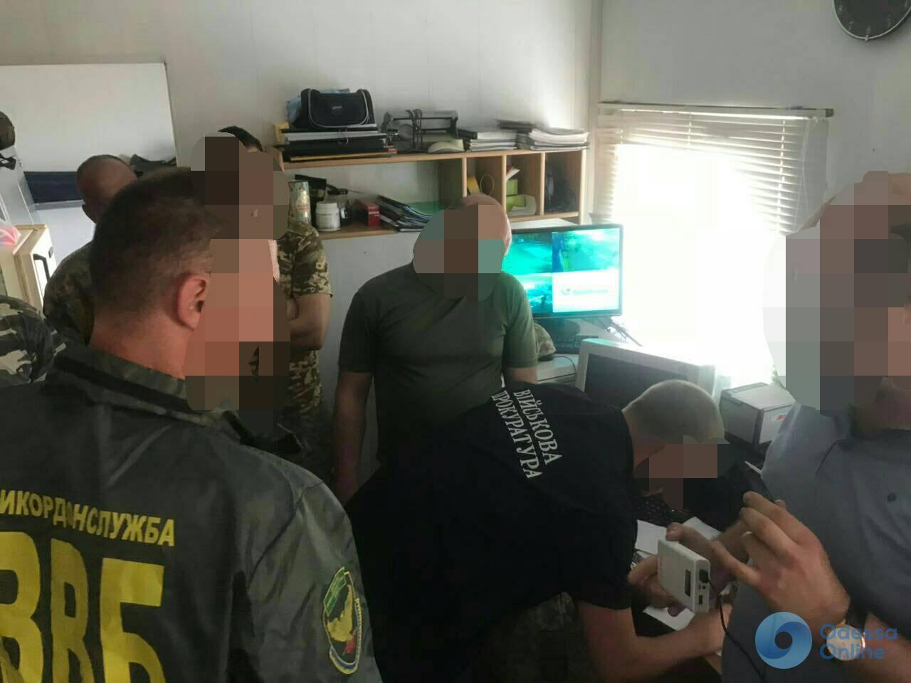 В Одессе пограничник «погорел» на взятке
