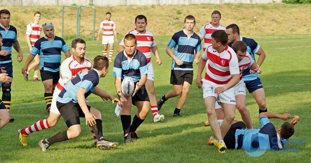 Одесские команды снова не жалели друг друга в матче международного турнира по регби