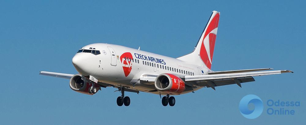 Авиакомпания Czech Airlines возобновила перелеты из Одессы в Прагу