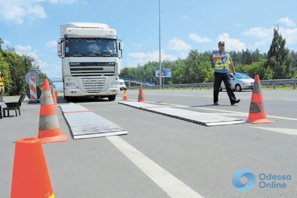 На отремонтированных дорогах Одесской области обещают установить новые весовые комплексы